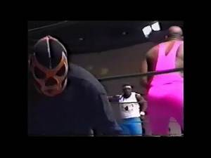 The Scorpion and The Shadow vs Koko BWare and Candyman USWA wrestling
