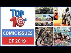 Top 10 Comic Book Issues of 2019! (So Far)