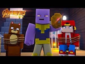 BRUNO TEAMS UP WITH LITTLE ROPO & THE MINEVENGERS - Minecraft Infinity War #1