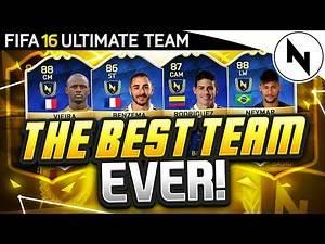 THE BEST TEAM EVER!! - FIFA 16 Ultimate Team Squad Builder