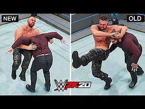 WWE 2K20 Top 10 New Finishers vs Old Finishers!! Part 2