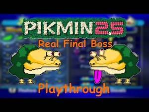 Pikmin - 2.5 - Real Final Boss Playthrough (Minor Hack)