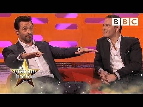 Hugh Jackman enjoys getting naked on set | The Graham Norton Show - BBC