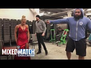 Rusev and Aiden English put Lana through the paces en route to WWE Mixed Match Challenge