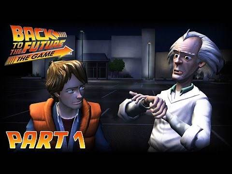 Back to the Future The Game Let's Play Part 1 - How Can It Get Any Worse? (Xbox One)