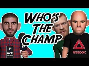 Dana White refuses to Clear The 155 Belt Situation !