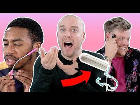 Can Guys Guess What These Girl's Products Are? | Four Nine Looks