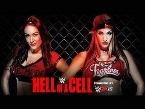 ESGNet's PPV Predictions | 2014 WWE Hell in a Cell | Brie Bella vs. Nikki Bella (WWE 2k14)