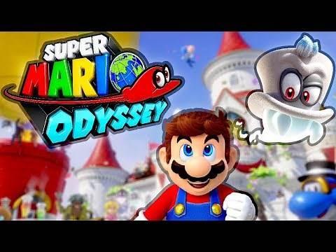 Super Mario Odyssey Complete Game! (Speedrun)