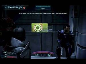 Mass Effect 3: Citadel DLC - Space Hamster Joke and Kaidan v Shepard talk