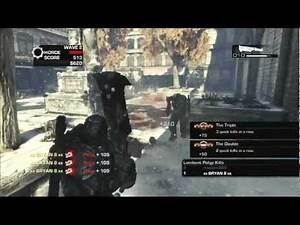 Unlock Ice Cleaver on the Raven Down map: Gears Of War 3