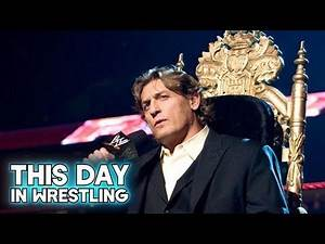 This Day In Wrestling William Regal Becomes King Of The Ring (April 21st)