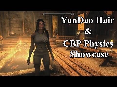 Skyrim SE - YunDao Hair and CBP Physics Showcase - SKSE64 2.0.15