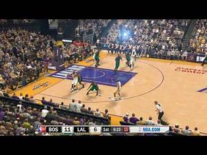 NBA 2K17 - 07-08 Celtics at 09-10 Lakers - MyLeague Game 1 for BOS - PC MOD - HD