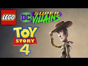 LEGO DC Super-Villains Toy Story 4 Woody Custom Character