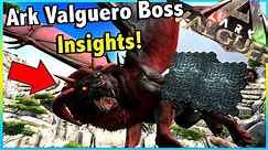 ARK VALGUERO BOSSES, TAKING A LOOK AT THEIR HEALTH, DAMAGE AND HOW MUCH ELEMENT THEY GIVE! || ARK!