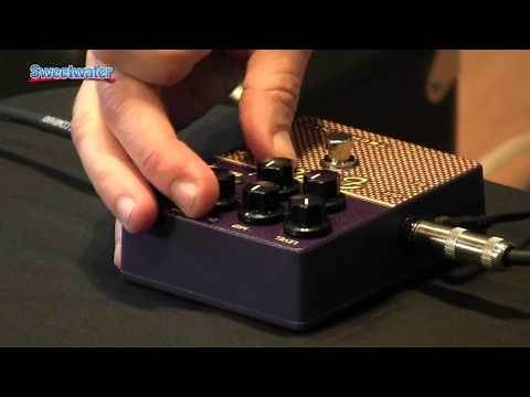 Tech 21 SansAmp Character Series British V2 Pedal Demo - Sweetwater Sound