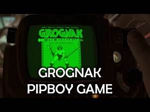 Fallout 4 - Grognak & The Ruby Ruins Holotape Game Location