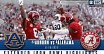 #22 Auburn Tigers vs. #1 Alabama Crimson Tide: Extended Highlights | CBS Sports HQ