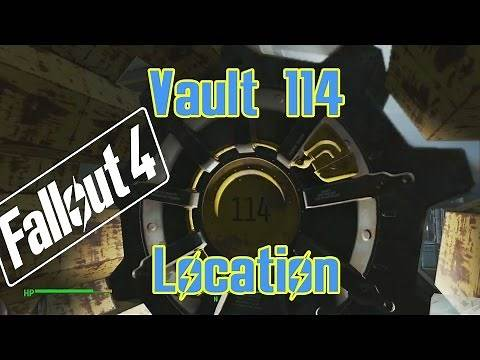 Fallout 4 - Vault 114 Location - No Commentary