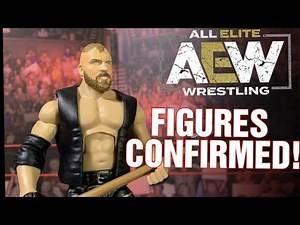 AEW FIGURES OFFICIAL UPCOMING RELEASE + MORE!