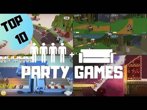TOP 10 4 Player Party Games 2020 on PS4 | Couch Coop | ps4 party games, party games ps4
