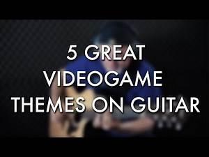 5 Great Video Game Themes | FIngerstyle Guitar | Igor Presnyakov
