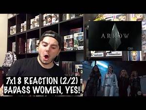 ARROW - 7x18 'LOST CANARY' REACTION (2/2)