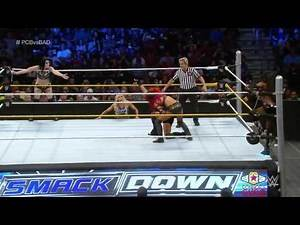 Paige & Becky Lynch vs Naomi & Sasha Banks SmackDown, Sept 17, 2015