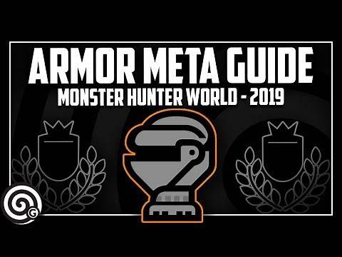 COMPLETE ARMOR META GUIDE - What is the Armor Meta and Where did it come from? | MHW