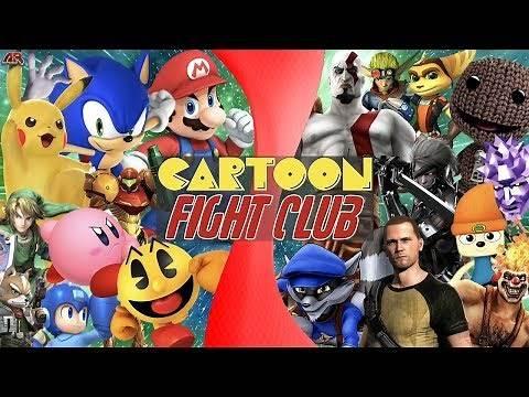 Super Smash Bros VS PlayStation All-Stars (Nintendo VS Sony) | CARTOON FIGHT CLUB