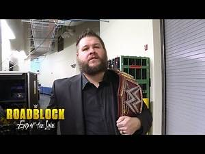 Kevin Owens does not mince words when asked about his match: WWE Roadblock Exclusive, Dec. 18, 2016
