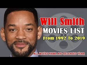 Will Smith Movies List 1992-2019 ( Global Celebrity )