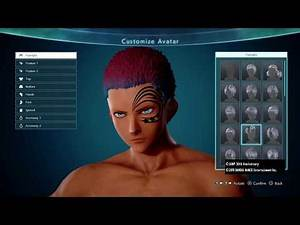 JUMP FORCE- Best Character Creation (All Options)