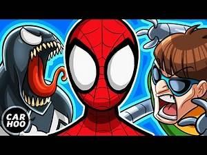 Spiderman vs Venom Green Goblin Doctor Octopus [ Superheroes Parody ]