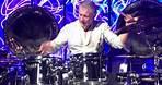 Carl Palmer drum solo at Music Biz Awards, Nashville