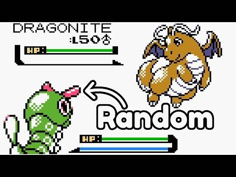 Beating the Elite Four but every battle my team is random (Pokemon Crystal)