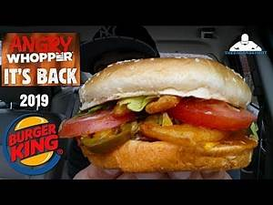 Burger King® Angry Whopper® Review! 🍔👑👿🔥