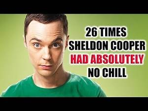 #TBT- 26 Times Sheldon Cooper Had Absolutely No Chill