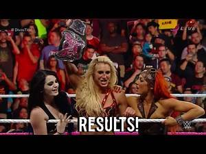 WWE Hell in a Cell 2015 Charlotte vs Nikki Bella Divas Championship Match Result!