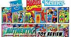 Marvel Legends Hasbro Retro Kenner action figures Wave 1 and Wave 2 Toy Review