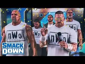 John Cena Invites Goldberg To Join the nWo! (WWE 2K Story)