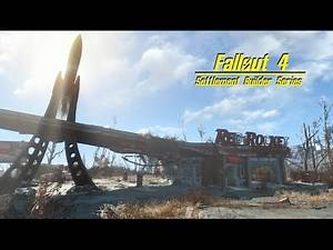 Fallout 4 Settlement Builder - Sanutary Hills , Player House p.1