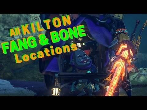 All 7 Kilton Fang and Bone Shop Locations Zelda BOTW