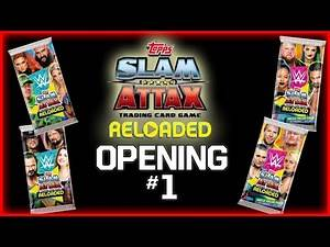 WWE SLAM ATTAX 2020 | #1 : DÉBUT D'UNE COLLECTION (Binder, Boosters, Multi-Packs) !