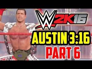 WWE 2K16 - 2K Showcase [Austin 3:16] Part 6 - Shawn Michaels vs. Stone Cold (WrestleMania 14)