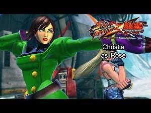 Christie as Rose - Street Fighter X Tekken