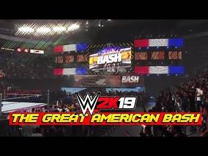 WWE 2K19 Creations: The Great American Bash 2008 | Create An Arena
