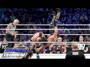 Seth Rollins vs. Ryback - Champion vs. Champion Lumberjack Match: SmackDown, September 10, 2015