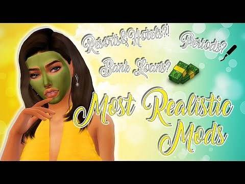 12 MOST REALISTIC SIMS 4 MODS LINKS   JUNE   2019